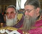 Father Nikolai Babitchouk, Pine Bush, NY (MP) and Father George Lardas, Stratford CT (ROCOR)