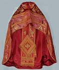 Complete Priest Vestments-Red